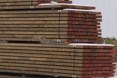 Geïmpregneerde Douglas hout-planken groothandel Antwerpen