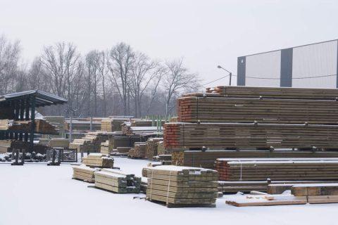 constructiehout geimpregneerd