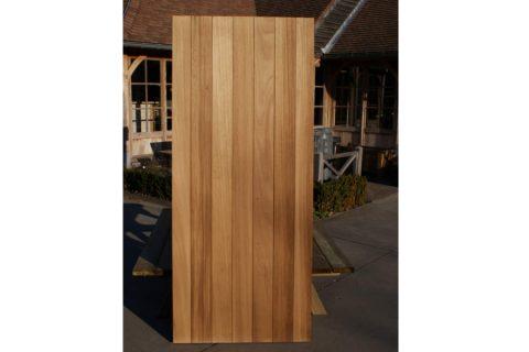 fabrikant deur buiten thermowood kader bekleding hardhout Antwerpen