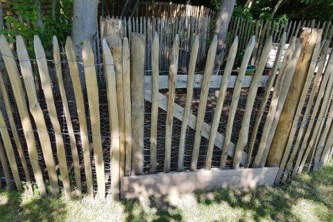 poort kastanjehout schapenhek kastanje kopen