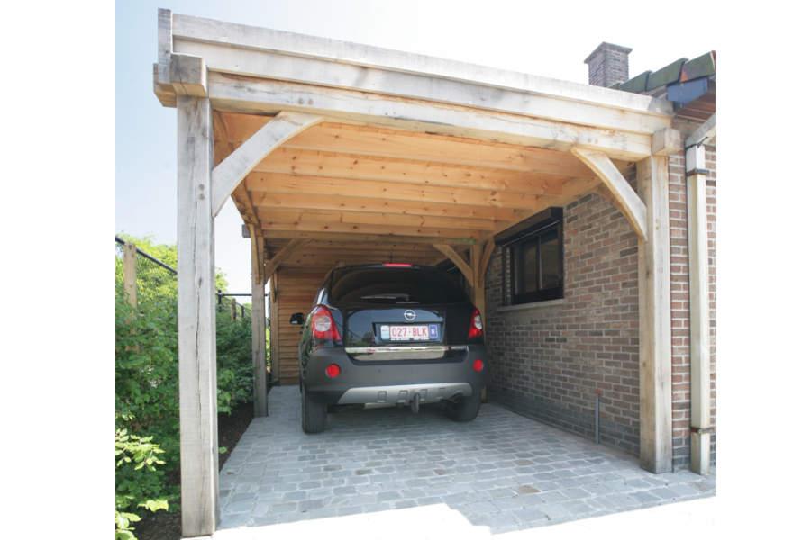 Houten Carports Garages En Overkappingen Belgo Garant