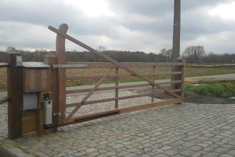 prijzen landelijke weidepoort hardhout okan automatisatie