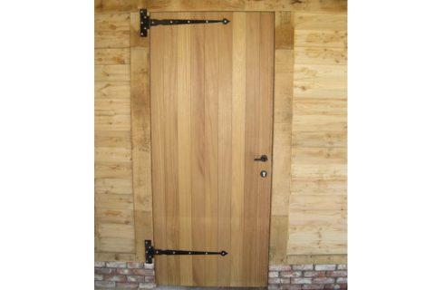 schrijnwerkerij deur hardhout iroko buiten staldeur kopen