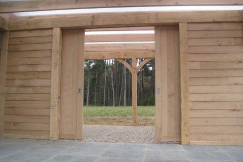 schuifdeur tuinhuis bijgebouw eik van ontwerp tot plaatsing prijslijst