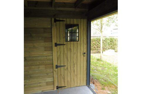 waar tuinhuisdeur te koop stalen raam buiten geimpregneerd grenen