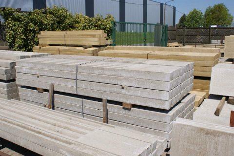 betonpaal prijs betonpalen scheidingswanden tuin