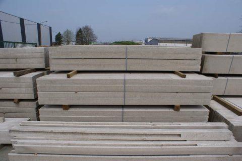 plaatsen betonnen gleufpalen afrasting levering
