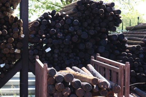 gecreosoteerd epicia hout Antwerpen