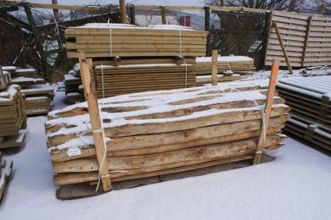 leverancier groothandel robinia palen rondhout