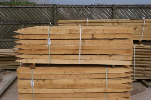 robinia hout palen vierkant