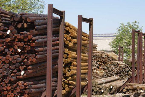verduurzaming epicea rondhout