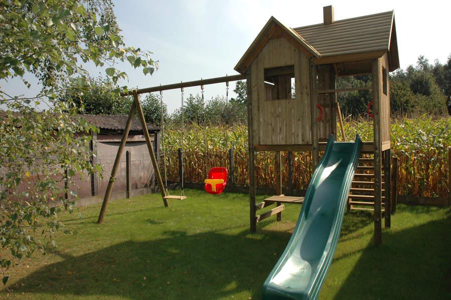 Speeltoestel Kleine Tuin : Speeltoestel model 140 belgo garant