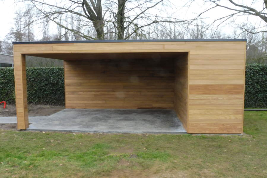 Hout afromosia planchet tand groef modern